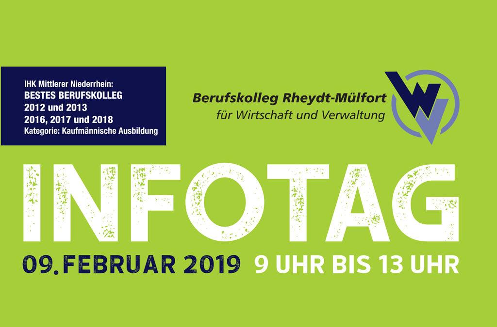 Infotag am 9. Februar 2019 von 9 – 13 Uhr // Anmeldezeitraum: 09.02.2019 bis 27.02.2019