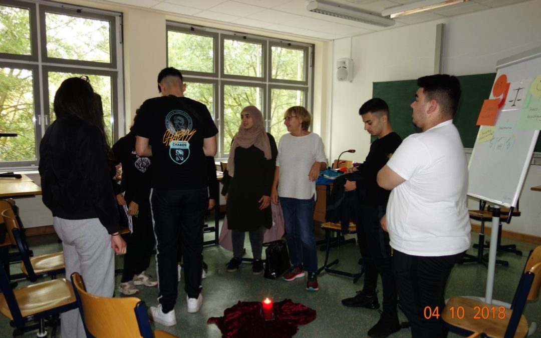 """Projekttag """"Gemeinsam aktiv gegen Stress"""""""
