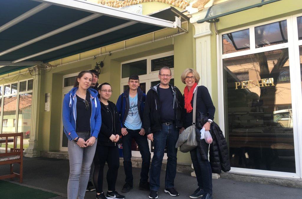 Erasmus+ – Culture and Work in Europe – Projekttreffen in Požega