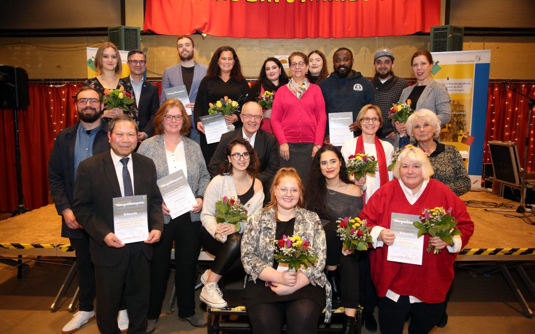 Verleihung des Integrationspreises 2019